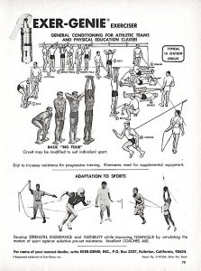 Isometric Exerciser for General Conditioning
